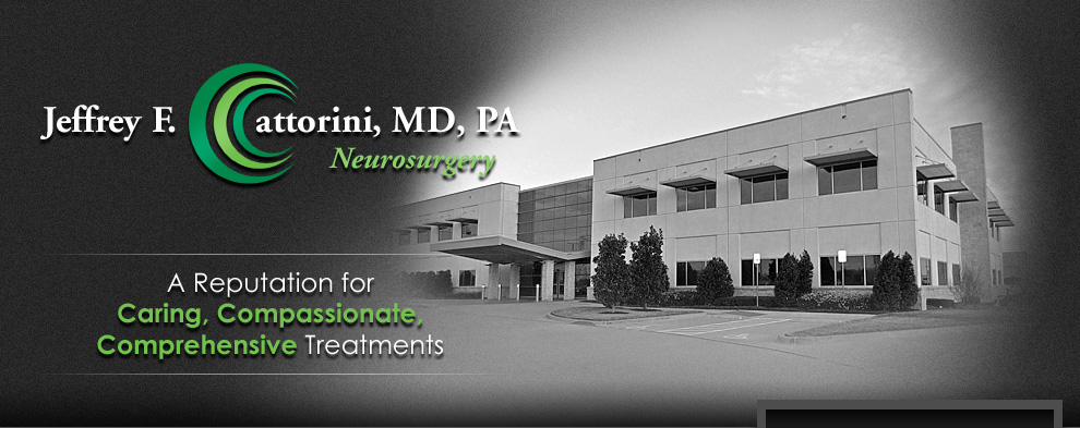 Neuroeurgeon Dallas Jeffrey F. Cattorini MD